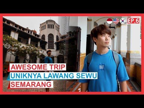 [Orang Korea] Wisata Terakhir di Semarang yang Indah | Awesome Trip 어썸트립 EP.6 [KOR-EN-IND SUB]