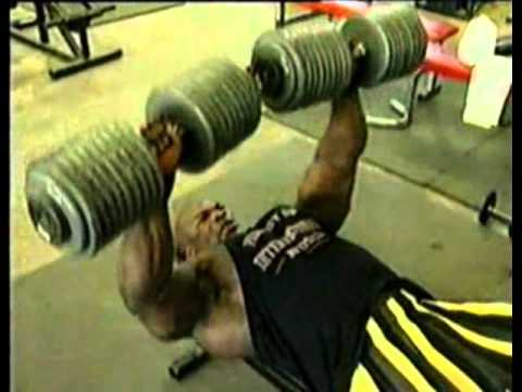 Ronnie Coleman Benching 400 Lbs Youtube