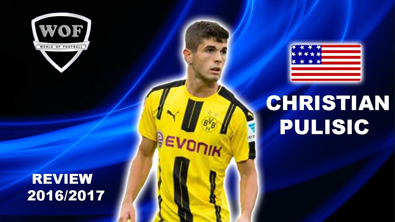 low priced 5e09d e61f5 CHRISTIAN PULISIC   Borussia Dortmund   Goals & Skills   2016/2017 (HD)
