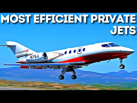 10 Most Economical Private Jets