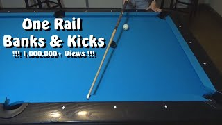Pool Lessons: 1 Rail Banks \u0026 Kicks