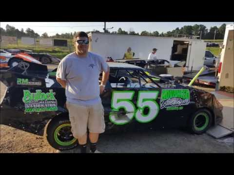 #55 Shane Bullock - Pony - 9-4-16 - Wartburg Speedway - In-Car Camera