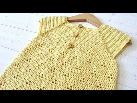 how-to-crochet-a-baby-/-girl's-pretty-summer-dress---the-daisy-dress