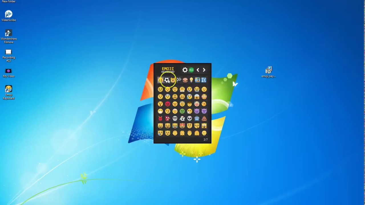 How To Download Emoji Keyboard For Pc Window 7 8 And For 10 Must Watch Friends Youtube
