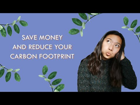10 Ways to Reduce Your Carbon Footprint AND Save Money