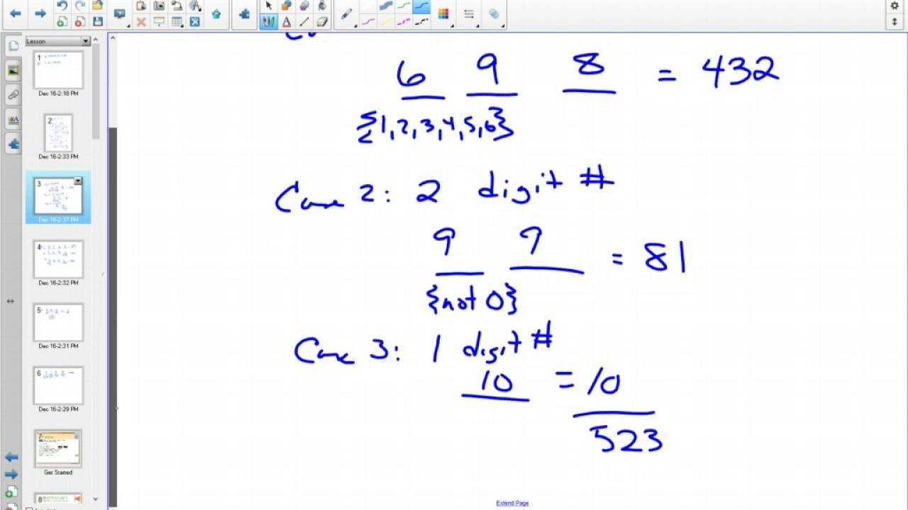 40sp Permutations Worksheet Answers