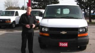 For Sale 2008 Chevrolet Express Cargo Van at Addison