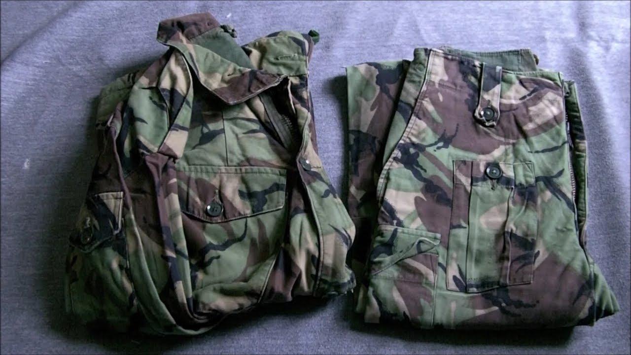 Falklands Kit & Uniform - Combats & Windproofs