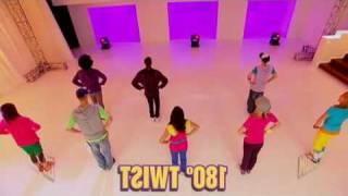 Hannah Montana Hoedown Throwdown dance ( Mirrored)