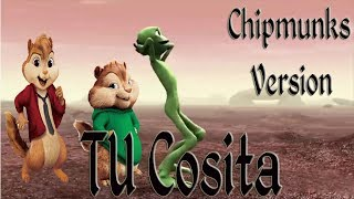 Alvin - Tchococita Song (Chipmunks Video Clip) بصوت السناجب