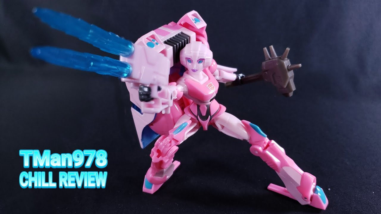 Transformers Bumblebee Cyberverse Adventures Arcee CHILL REVIEW