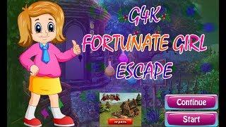 G4K Fortunate Girl Escape Walkthrough [Games4King]