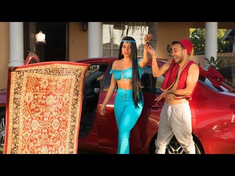 Aladdin Gets a Car! | Anwar Jibawi & Inanna Sarkis