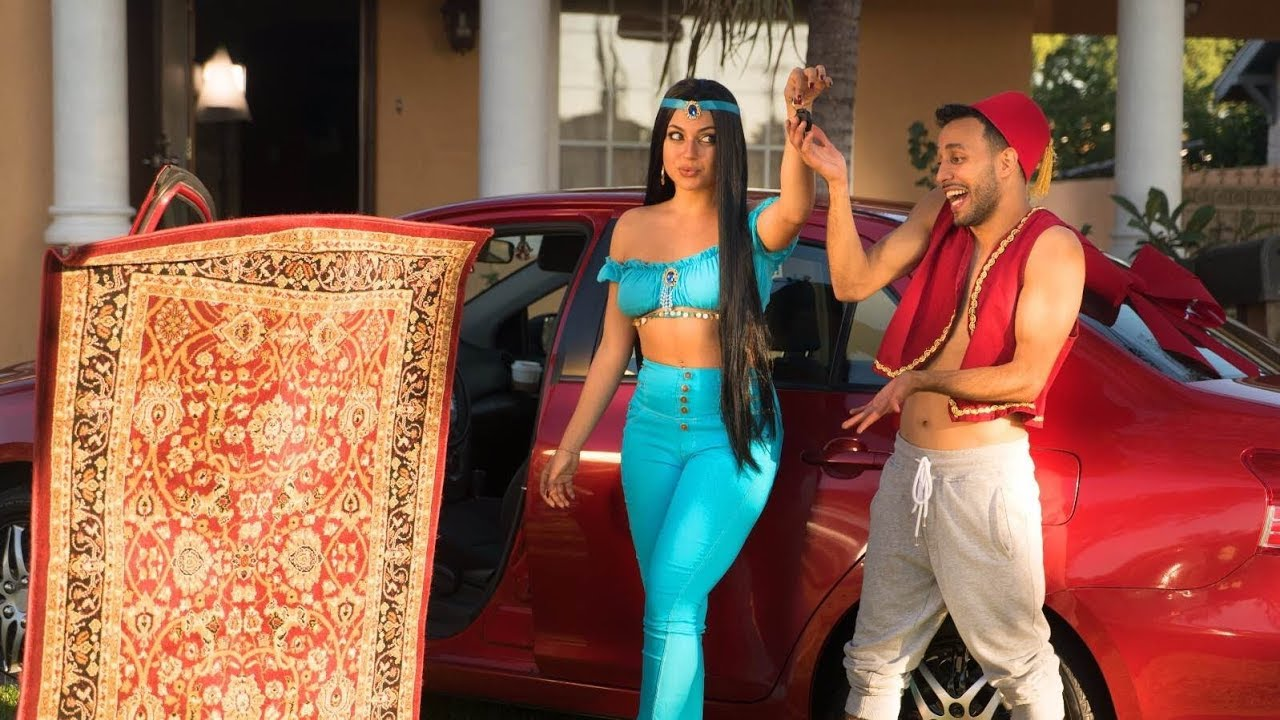 Aladdin Gets a Car! | Anwar Jibawi