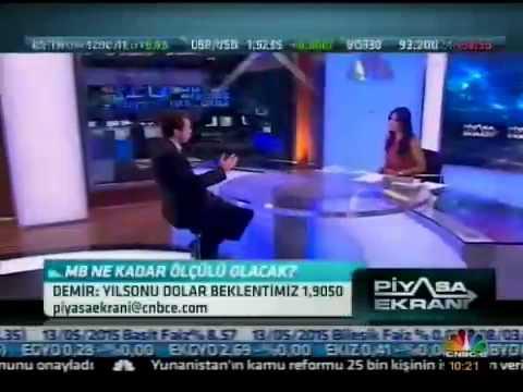Finansbank Basekonomisti İnan Demir'in 19.07.2013 CNBC-e konuşması