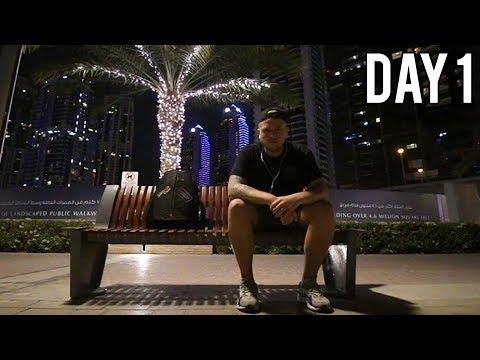 DUBAI WITH NO MONEY - DAY 1