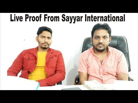 Live Proof From Sayyar International New Dehli(2)