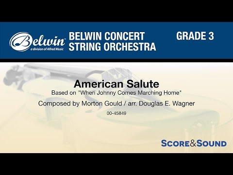 American Salute, arr. Douglas E. Wagner – Score & Sound