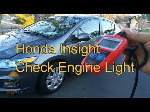 ️How to Reset Honda Insight Check Engine Light 2010 2011 ...
