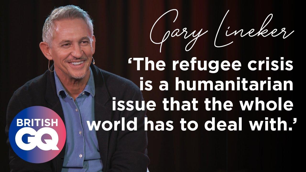 Gary Lineker on the BBC, Marcus Rashford and taking in a refugee   British GQ