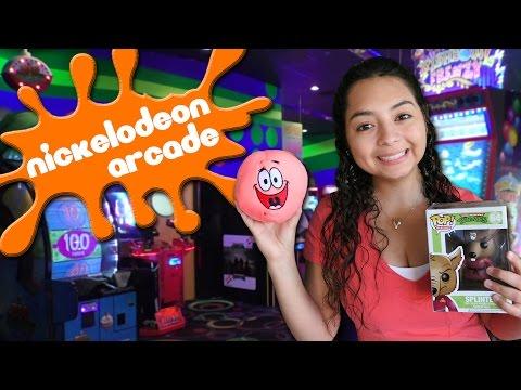 Nickelodeon Hotel Arcade Fun!!!