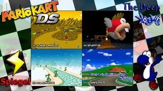 Mario Kart DS - Blitz Cup Spiegel - Yoshi ist wie der Blitz!