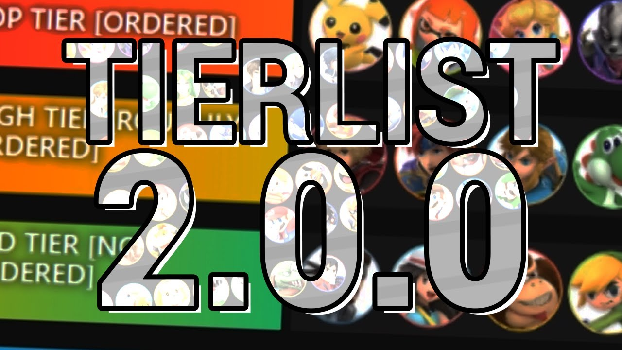 Smash Ultimate' Tier List: Version 2 0 Changes Top Fighters