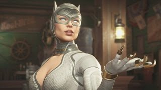 Injustice 2 - Catwoman All Intro/Interaction Dialogues