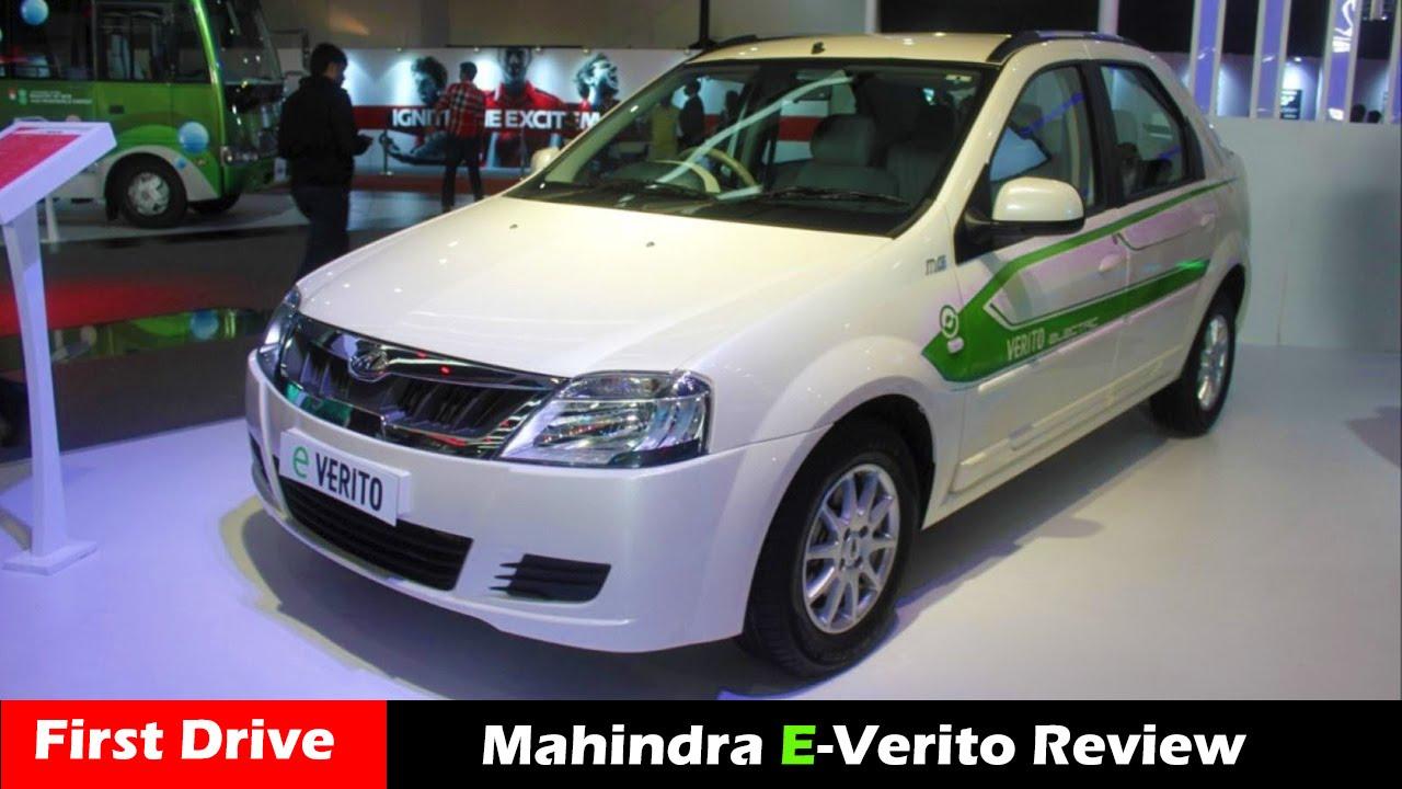 Mahindra E Verito Electric Car Review 2016 First Drive