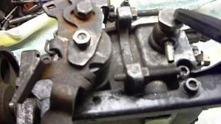 видео Renault 1.9 d lukas не качает насос