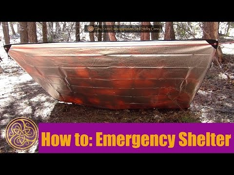 4 Minute Emergency Shelter with Arcturus All Weather Outdoor Survival Blanket