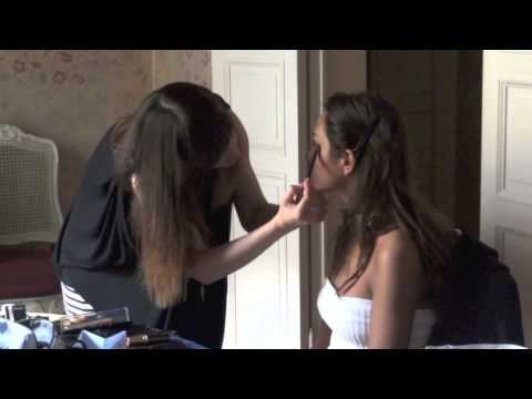 Sofia Valleri backstage Couture Anonyme S/S 2013