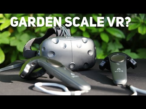 Using HTC VIVE outdoors - Will it work?