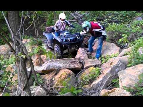 Rock Crawling ATV