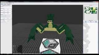 Video Techne Minecraft Model Making Praying Mantis