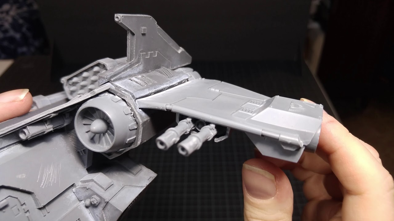 Warhammer 40k recast forge world Storm Eagle honest review