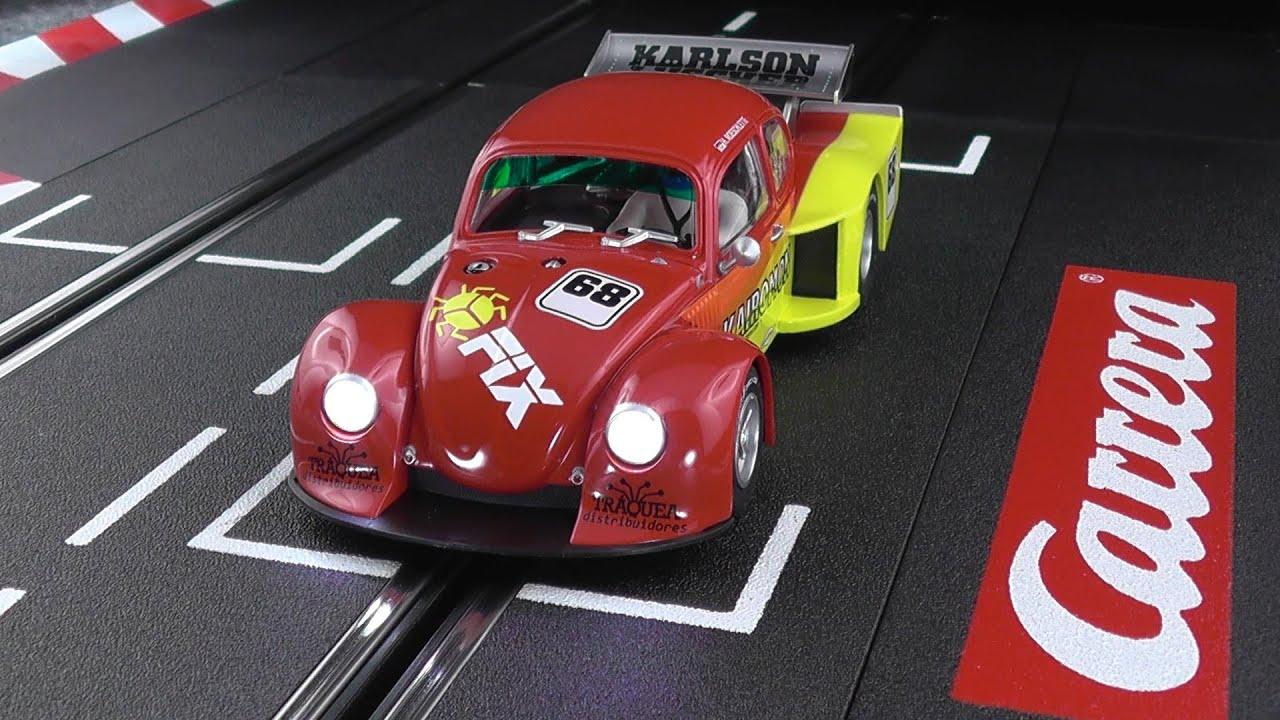 test drive carrera 30703 vw kaefer group 5 race 2 youtube. Black Bedroom Furniture Sets. Home Design Ideas