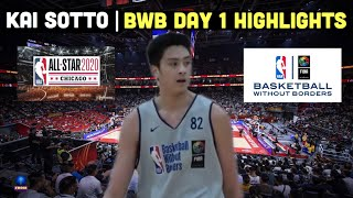 Kai Sotto Highlights Day 1 of Basketball Without Borders