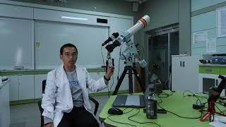 망원경 적도의 가대를 스텔라리움으로 연동하기(ascom…
