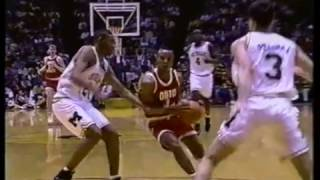 Buckeye Basketball: #10 Ohio State 68, #15 Michigan 58 (February 2, 1992)