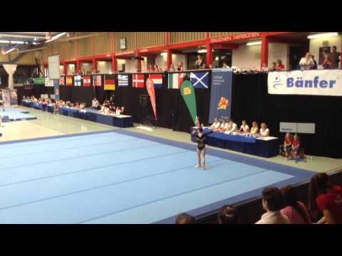 Sarah McKenzie - Gymnast - Hamburg 2014