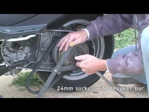 07  Suzuki Burgman 400 Cvt Removal
