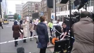 CNN inszeniert muslimische Demonstration gegen Terror mit Schauspieler! #fakenews