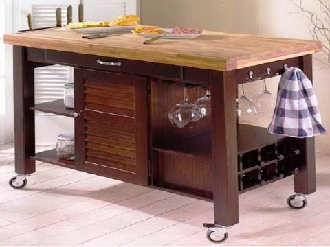 butcher block cart on wheels canada amazon island will beautify your kitchen decoration