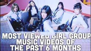 Most Viewed Girl Group Music Videos of the Past 6 Months