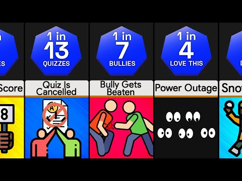 Probability Comparison: Best Things At School