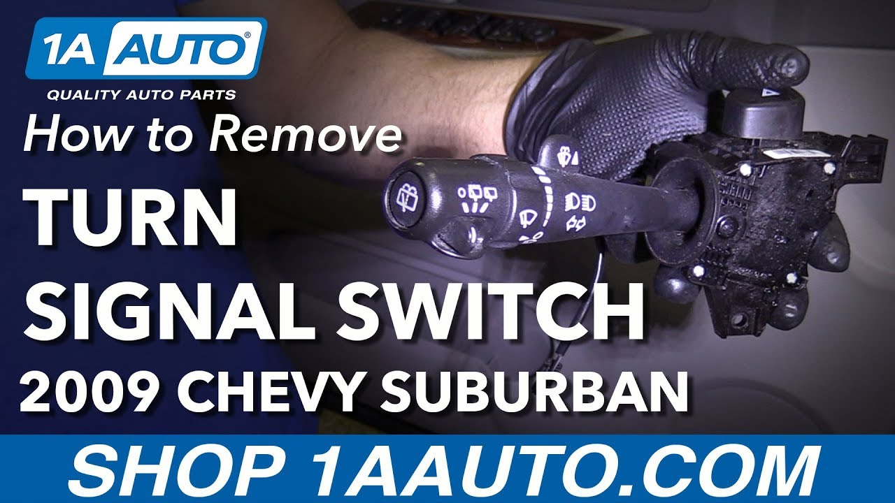 How to Replace Turn Signal Multi Function Switch 207-14 Chevy Suburban 1500