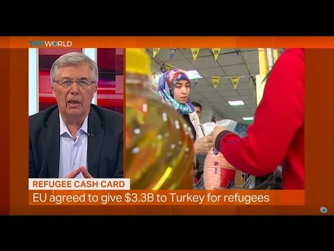 Money Talks: Refugee cash card by Turkish Red Crescent and WFP