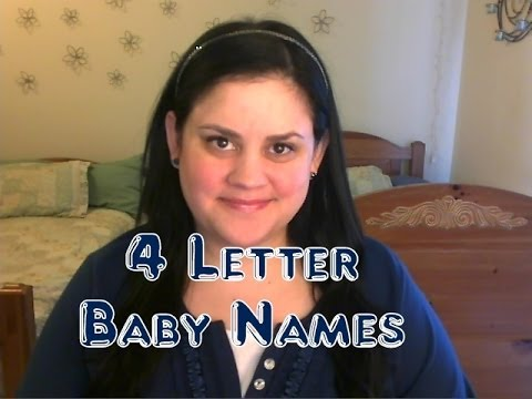 4 letter baby names