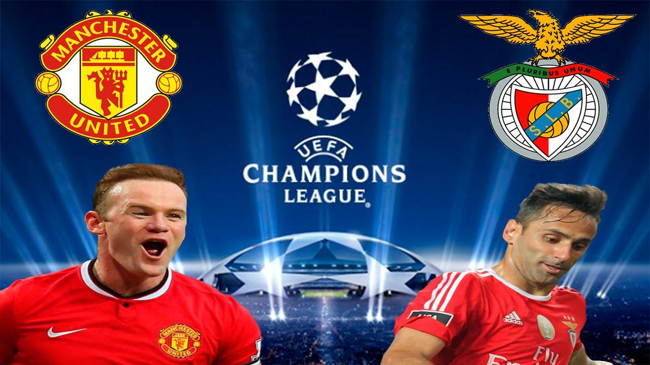 Fifa  Modo Treinador  Champions League Manchester United Vs Benfica P Hd